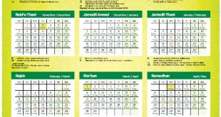 Islamic Calendar 1442
